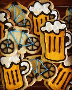 Bike 'n Beer Cookies
